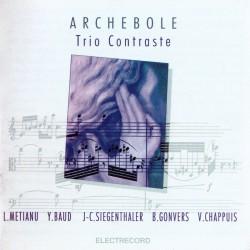 Trio Contraste - Archebole - CD