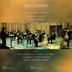 Trio Andrei / Orchestra de camera Liutaria - Bach, Weiss, Vivaldi - CD