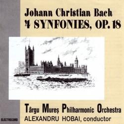 Alexandru Hobai - Johann Christian Bach - 4 Symphonies, Op. 18 - CD