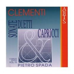 Muzio Clementi - Complete Piano Works Vol. 15 - CD