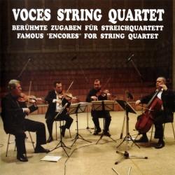 Voces String Quartet - Famous Encores for String Quartet - CD
