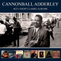 Cannonball Adderley - Eight Classic Albums - 4 CD Digipack