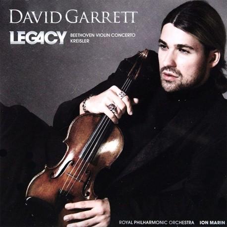 David Garrett - Legacy - CD