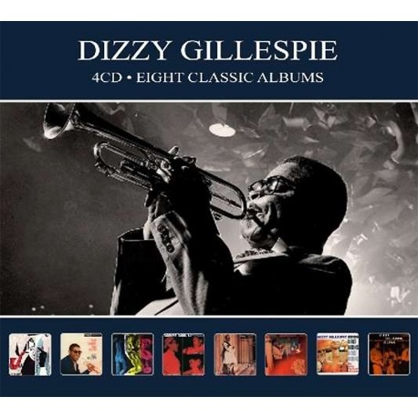 Dizzy Gillespie - Eight Classic Albums - 4 CD Digipack