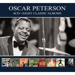 Oscar Peterson - Eight Classic Albums - 4 CD Digipack