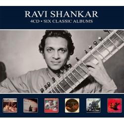 Ravi Shankar - Six Classic Albums - 4 CD Digipack
