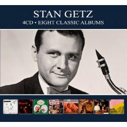 Stan Getz - Eight Classic Albums - 4 CD Digipack