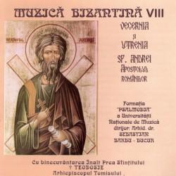 Formatia Psalmodia - Muzica bizantina vol. VIII - Vecernia si Utrenia Sf. Andrei - CD