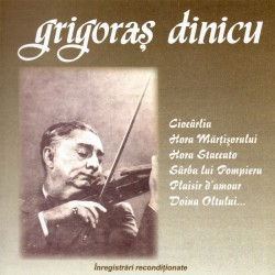 Grigoras Dinicu - Hora Staccato - CD