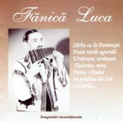 Fanica Luca - Sarba ca la Domnesti - CD