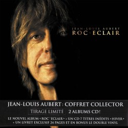 Jean-Louis Aubert - Roc Eclair - Box Set 2 Vinyl LP + 2 CD