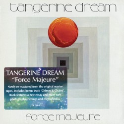 Tangerine Dream - Force Majeure (Remastered + Bonus /2019) - CD