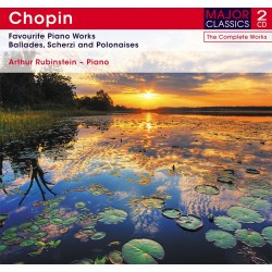 Frederic Chopin - Favourite Piano Works - 2 CD Digipack
