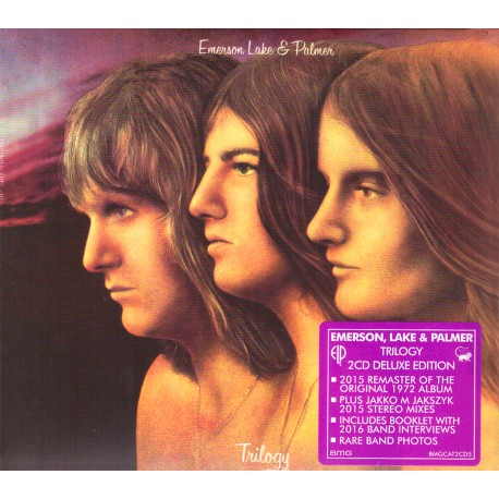 Emerson, Lake & Palmer - Trilogy - 2 CD Digipack