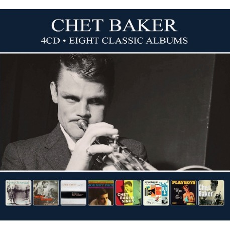 Chet Baker - Eight Classic Albums - 4 CD Digipack
