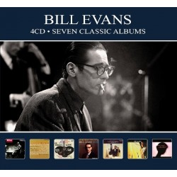 Bill Evans - Seven Classic Albums - 4 CD Digipack