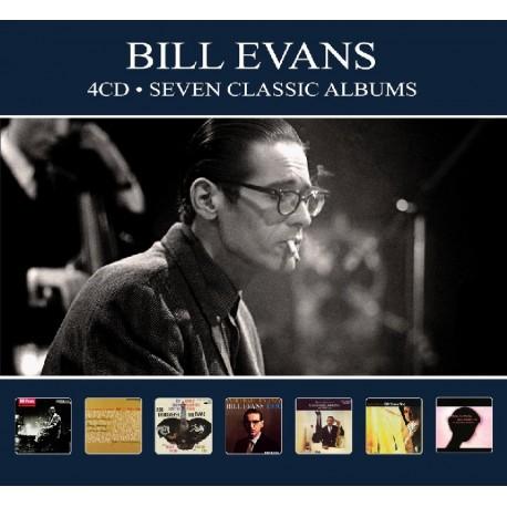 Bill Evans - Seven Classic Albums - 4 CD Digipack
