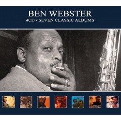 Ben Webster - Seven Classic Albums - 4 CD Digipack