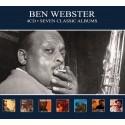 Ben Webster - Seven Classic Albums - 4 CD Digipack