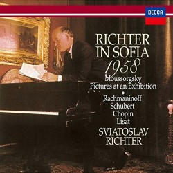 Sviatoslav Richter - Sofia Recital - Japan Ltd CD