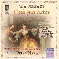 Wolfgang Amadeus Mozart - Cosi fan tutte - 2CD