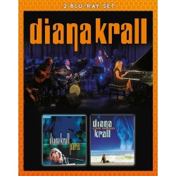 Diana Krall - Live In Paris / Live In Rio - 2 Blu-ray