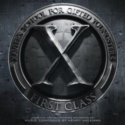 OST - X-Men - First Class - 180g PVC Sleeve Insert Gatefold Coloured Vinyl 2 LP