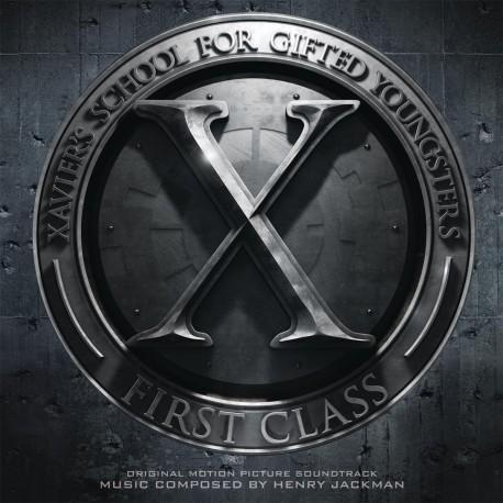 OST - X-Men - First Class - 180g PVC Sleeve Insert Gatefold Coloured Vinyl 2 LP