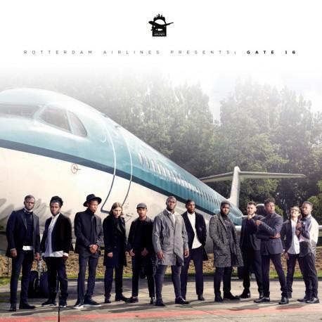 Rotterdam Airlines - Gate 16 - 180g Gatefold White Vinyl LP