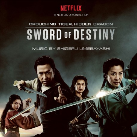 OST - Crouching Tiger, Hidden Dragon - Sword of Destiny - 180g PVC Sleeve Insert Gatefold Silver Vinyl 2 LP
