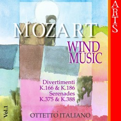 Wolfgang Amadeus Mozart - Wind Music vol.1 - CD
