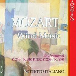 Wolfgang Amadeus Mozart - Wind Music vol.2 - CD