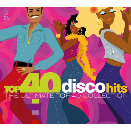 Various Artists - Top 40 - Disco Hits - CD Digipack