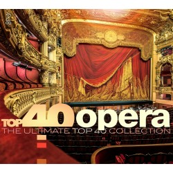 Various Artists - Top 40 Opera - 2 CD Digipack