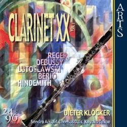 V/A - Clarinet XX - Solo Instruments in the 20th century Vol. 1 - CD