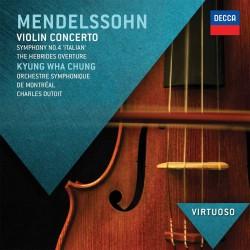 Felix Mendelssohn-Bartholdy - Violin Concerto / Symphony No.4 - CD