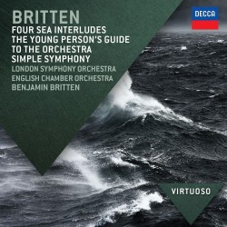 Benjamin Britten - Four Sea Interludes / Young Person's Guide To The Orchestra Simple Symphony - CD