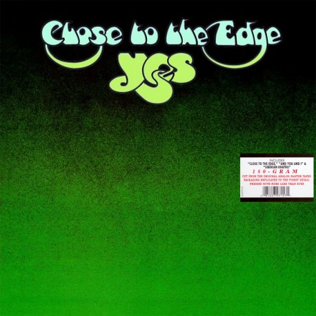 Yes - Close To The Edge - 180g Gatefold Vinyl LP