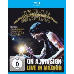 Michael Schenker - On A Mission - Live In Madrid - Blu-ray