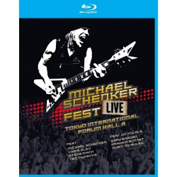 Michael Schenker - Fest Live Tokyo International Forum Hall A - Blu-ray