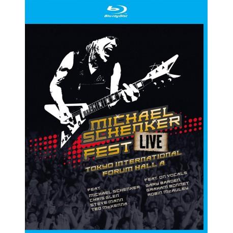Michael Schenker - Fest Live Tokyo International Forum Hall A - Blu-ray