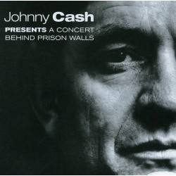 Johnny Cash - Presents A Concert Behind Prison Wall - CD