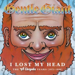 Gentle Giant - I Lost My Head - The Albums 1975 - 1980 - 4 CD