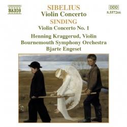Jean Sibelius / Christian Sinding - Violin Concerto - CD