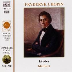 Frederic Chopin - Etudes Op.10 & 25 (Idil Biret) - CD