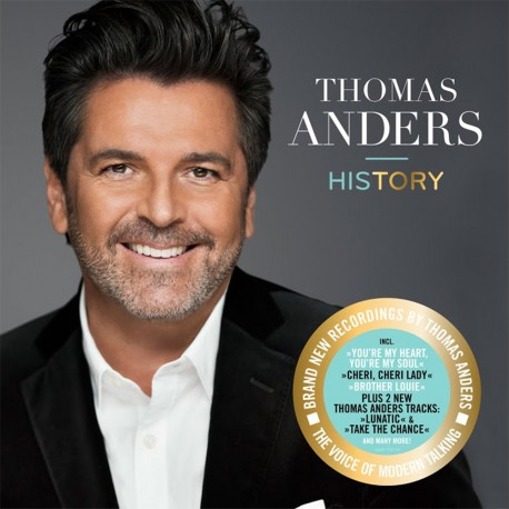 Thomas Anders - History - 180g HQ Vinyl 2 LP