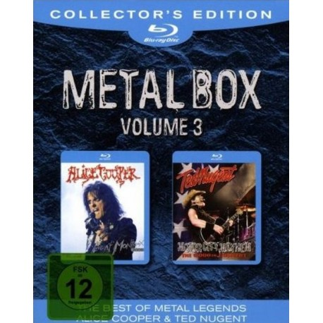 Alice Cooper - Live in Montreux 2005 / Ted Nugent - Motor City Mayhem - Boxset Metal 3 - 2 Blu-ray