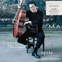 Yo-Yo Ma - Simply Baroque - 180g HQ Gatefold Vinyl 2 LP