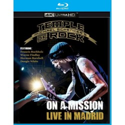 Michael Schenker - Temple Of Rock - On A Mission - Live In Madrid - 4k Bluray