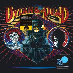 Bob Dylan & The Grateful Dead - Dylan & The Dead - Red/Blue Coloured Vinyl LP